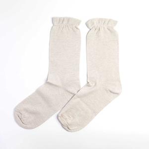 炭染めオーガニックコットン100%先丸靴下【重ね履き靴下4足セット 4枚目用】