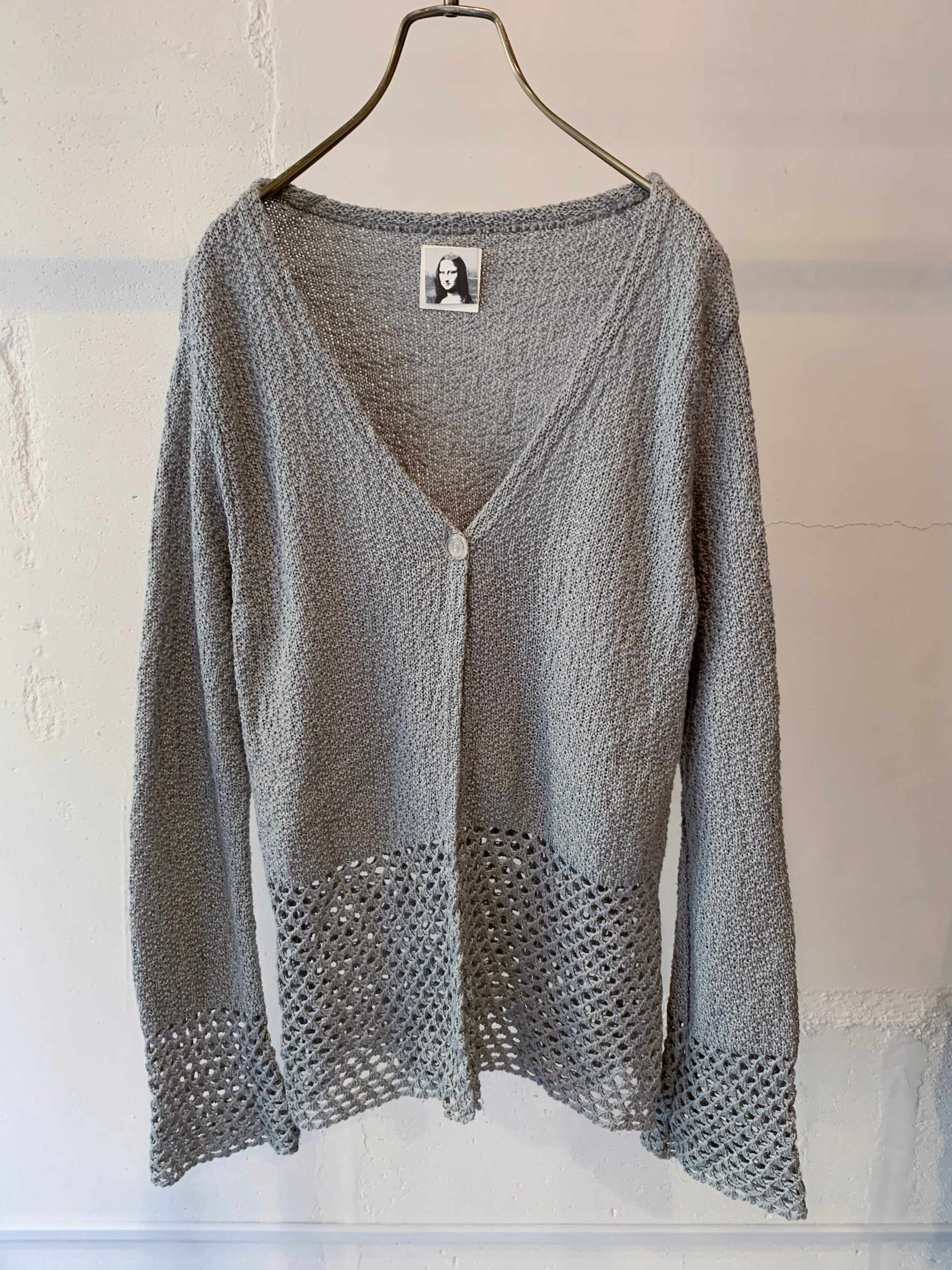 made in europe vintage knit cardigan