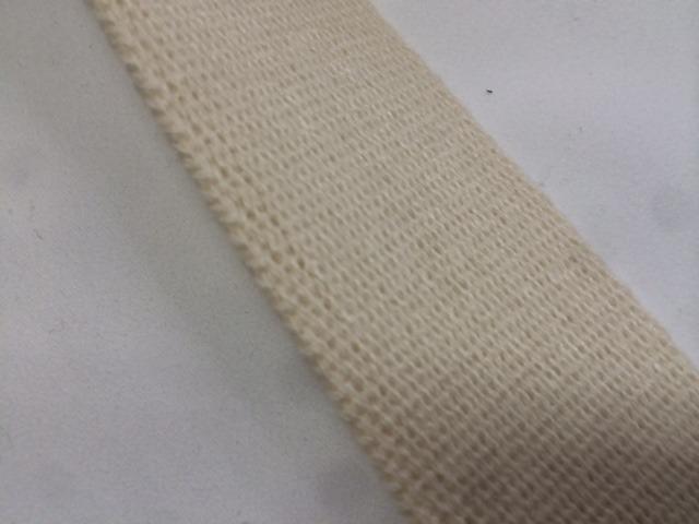 アクリル 三つ綾織 しっかり厚め 黒/カラー 50mm幅 5m単位