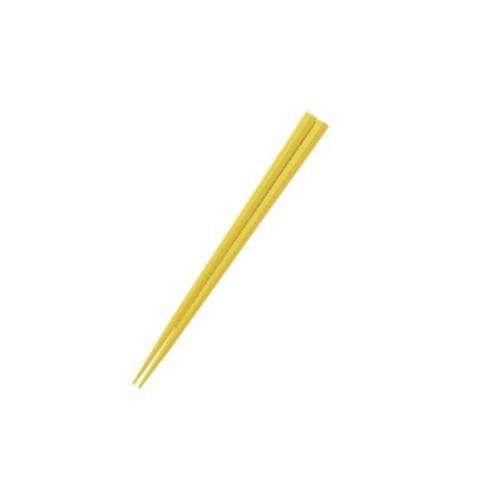 五角形15cmPBT箸  イエロー【OGH-5YE】