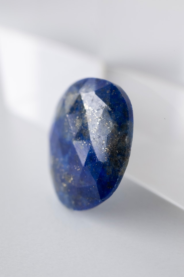 Rose cut Lapis lazuli - 013