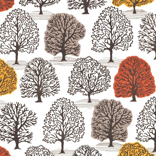 2021秋冬【Paperproducts Design】バラ売り2枚 ランチサイズ ペーパーナプキン  Vancouver ホワイト
