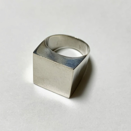 Vintage 925 Square Ring
