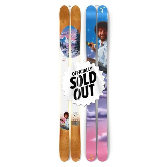 【予約】J skis - オールプレイ「ジョイ・オブ・スキーイング2」Bob Ross x Jコラボ限定版スキー【特典付き】