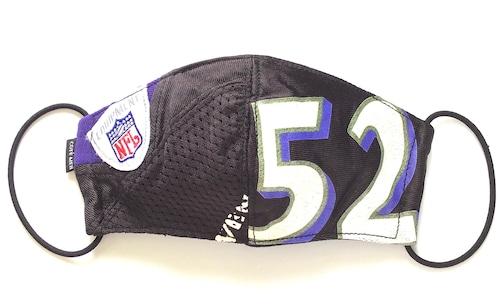 【デザイナーズマスク 吸水速乾COOLMAX使用 日本製】NFL SPORTS MIX MASK CTMR 1006017