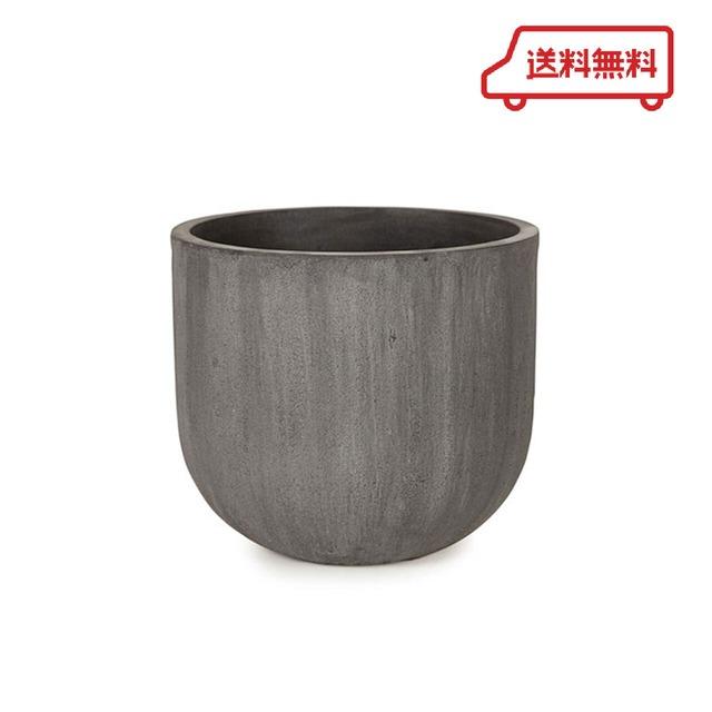 【送料無料】KONTON  ソンク ユーポットミドル チャコールグレー 10号用 観葉植物