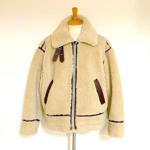 Loose Boa B-3 Type Jacket Natural