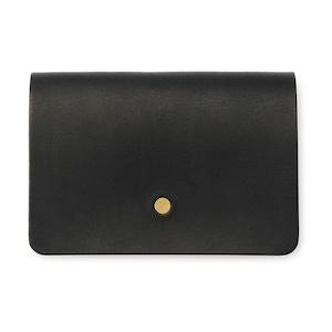 forme Hand wallet Liscio black