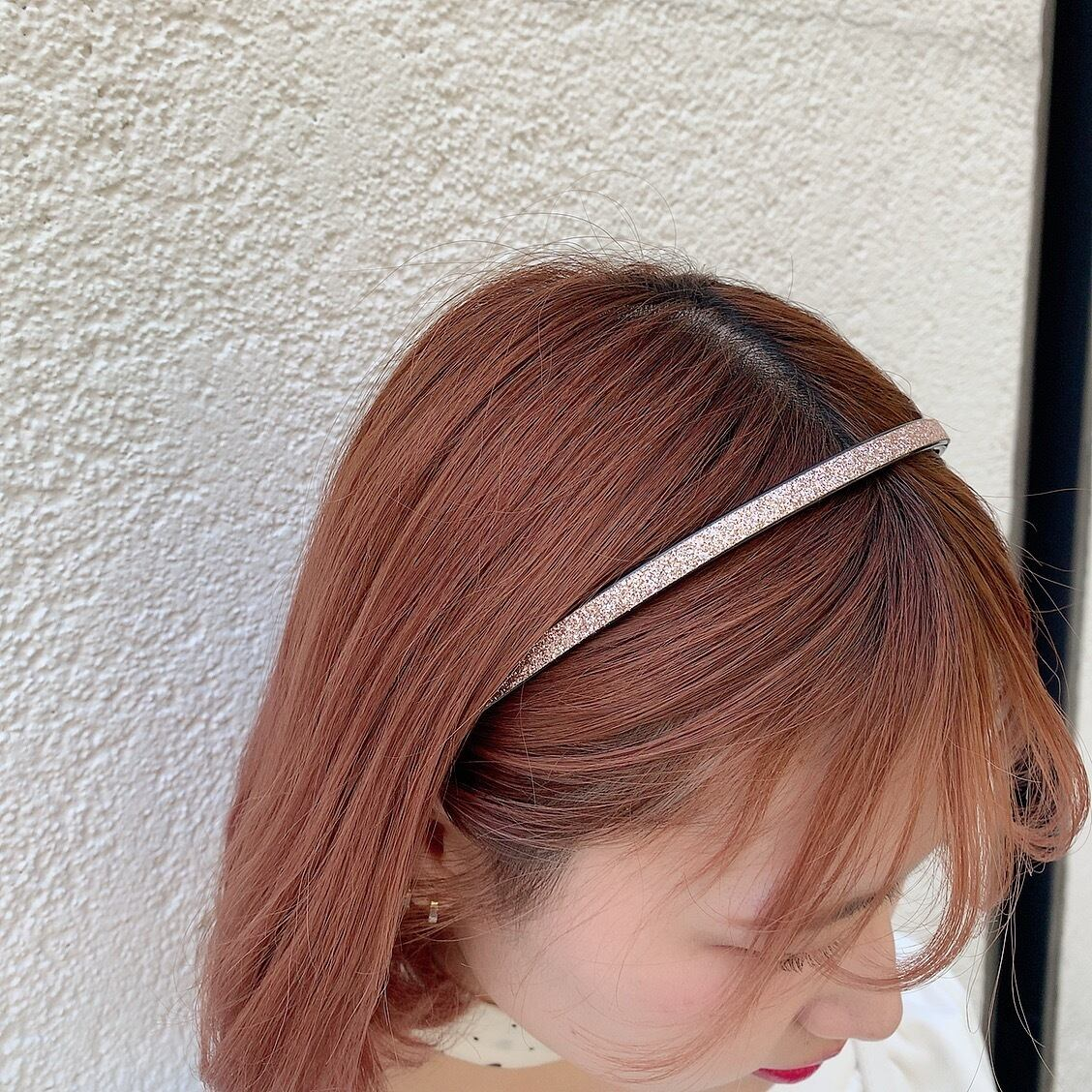 glitter hairband slim (single)