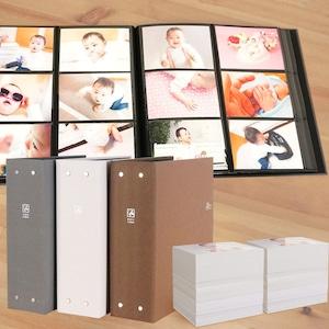 メガセラピーカラー 大容量 L判960枚収納 6面ポケットアルバム TCPK-6L-960