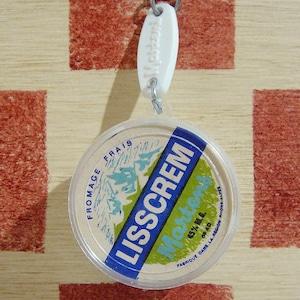 フランス Matens[マーチン]クリームチーズカップ型パッケージキーホルダー