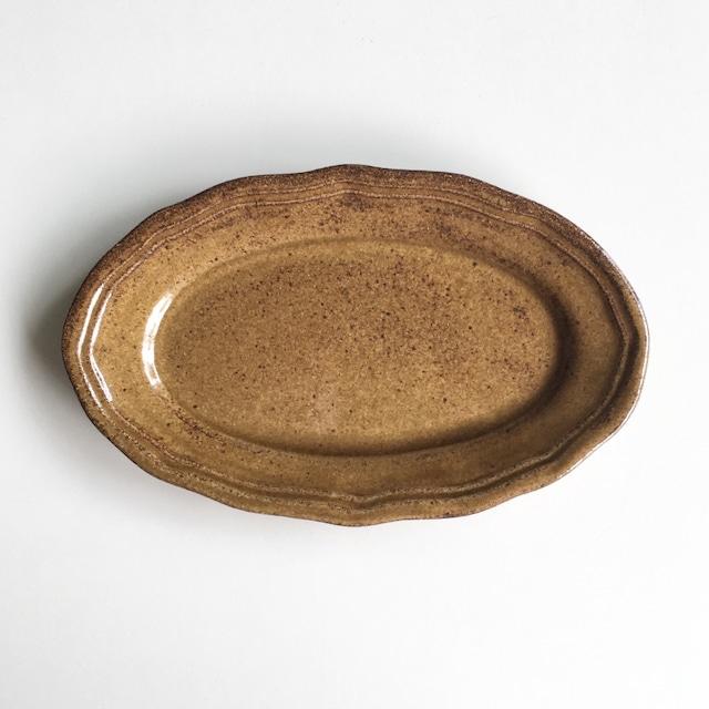楕円皿|西洋オーバル皿 益子焼 【日本製】