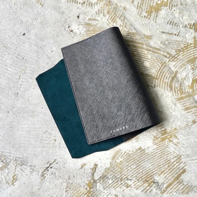 BOOK COVER(新書サイズ)ブラック × ダークグリーン