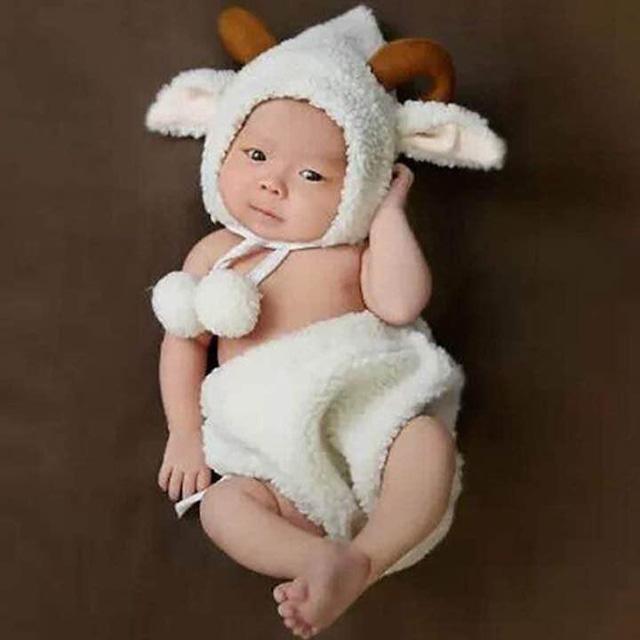 【即納】【ベビーコスプレ】 赤ちゃん 衣装 仮装 コスチューム【羊】 S516