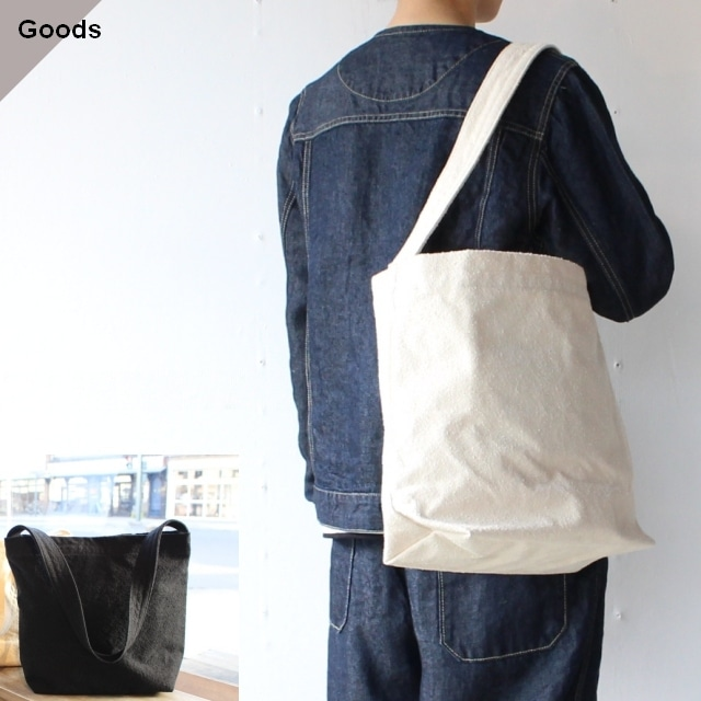 SETTO コットンスウェードキャンバスバッグ