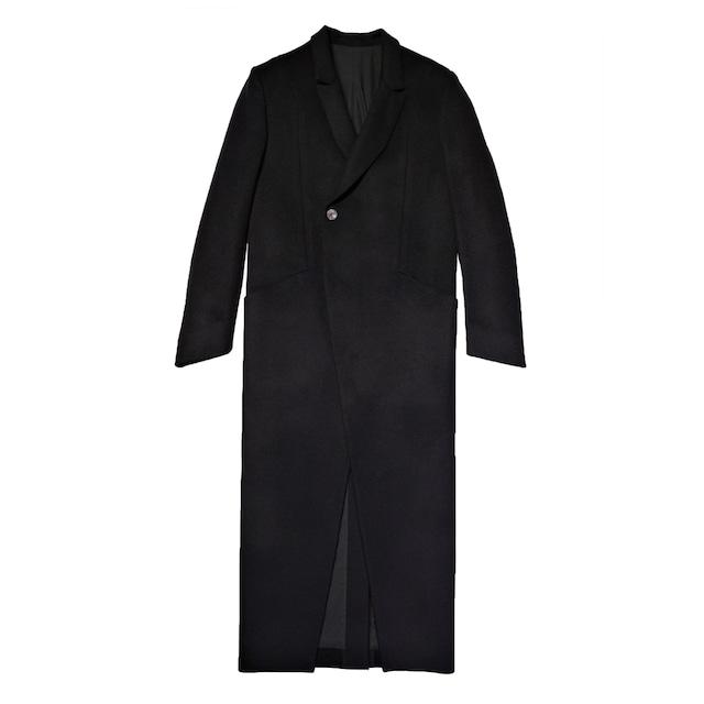 MODAL COAT / BLACK WOOL