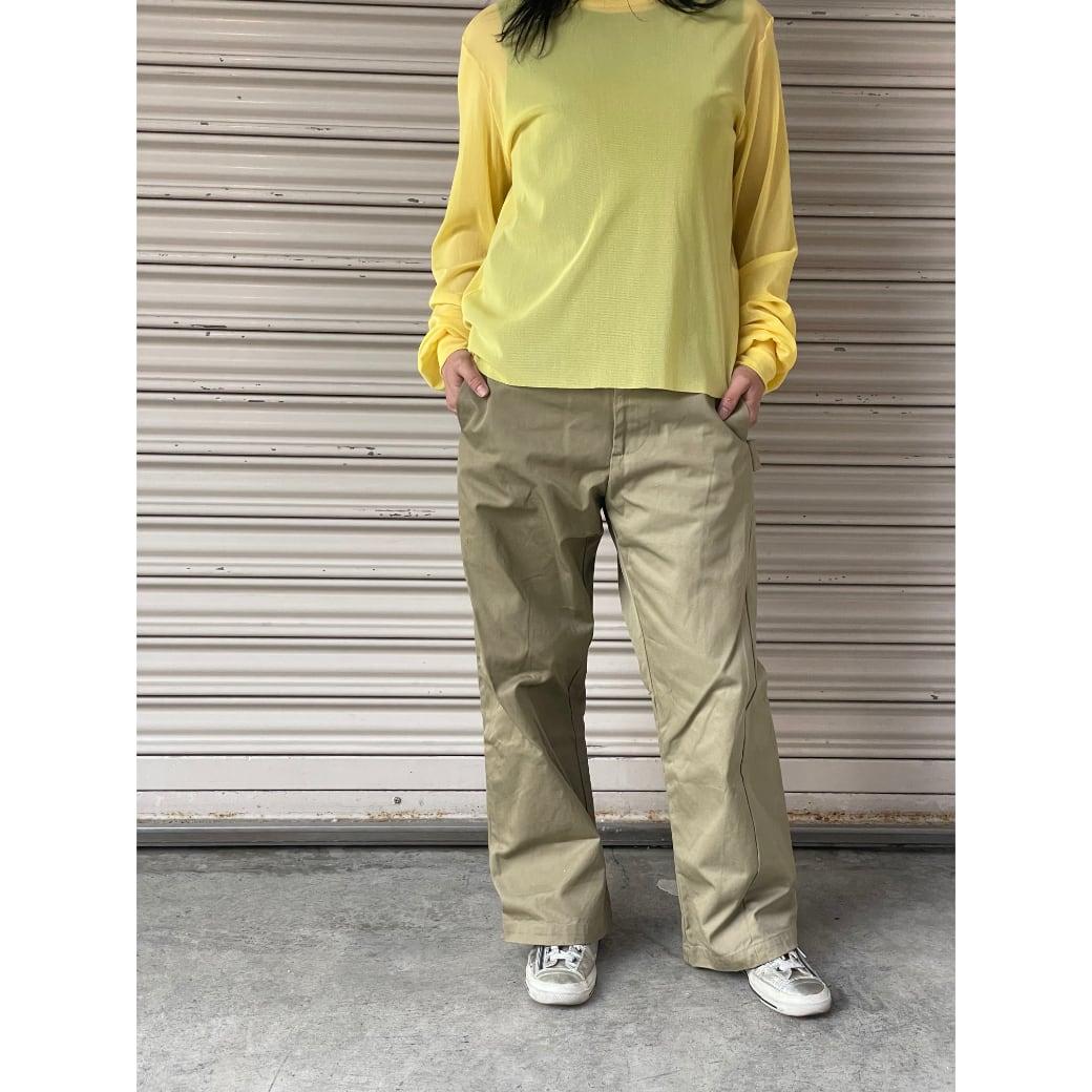 【sandglass】Italia shuraf pants  / 【サンドグラス】イタリア シェラフ パンツ