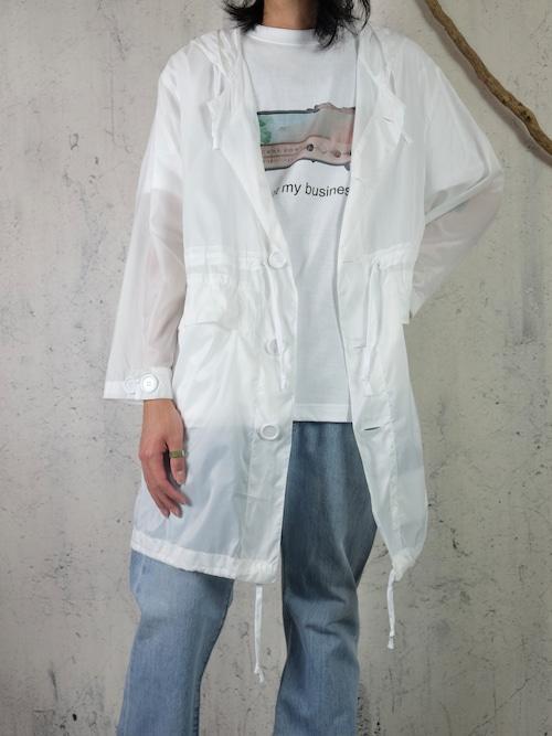 U.K snow camo parker(white)
