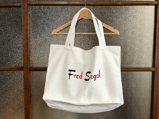 FRED SEGAL TOTE BAG (WHITE)