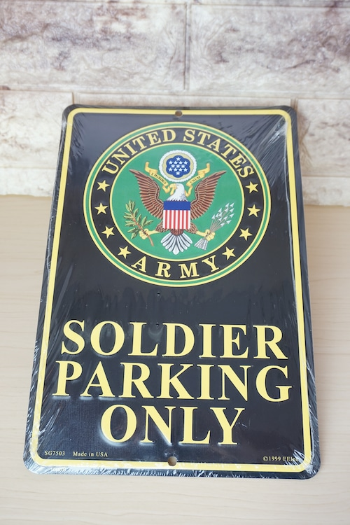 ブリキ看板(US ARMY)※新品です!