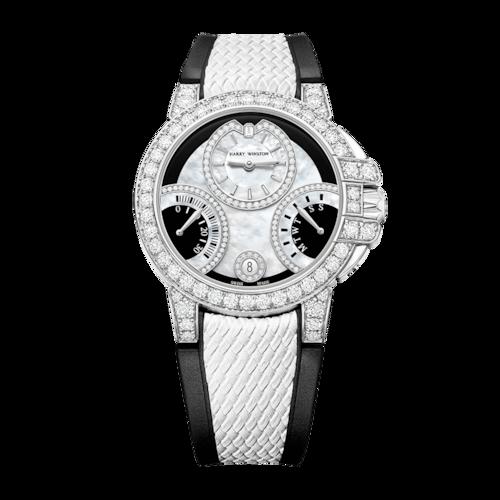 HW Ocean Biretrograde Black & White Automatic 36mm OCEABI36WW058