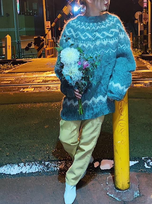 lopapeysa hand made knit