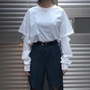 【WOMENS - 1 size】ELBOWLESS LONGSLEEVE / White