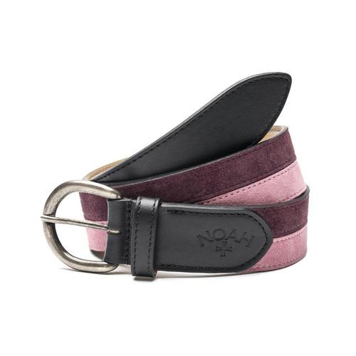 Stripe Belt(Burgundy)