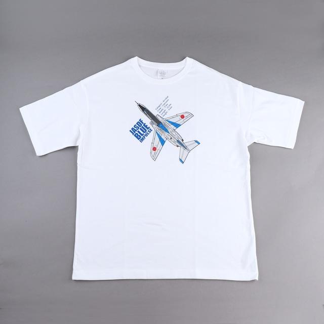 ブルーインパルス 両面プリント Tシャツ