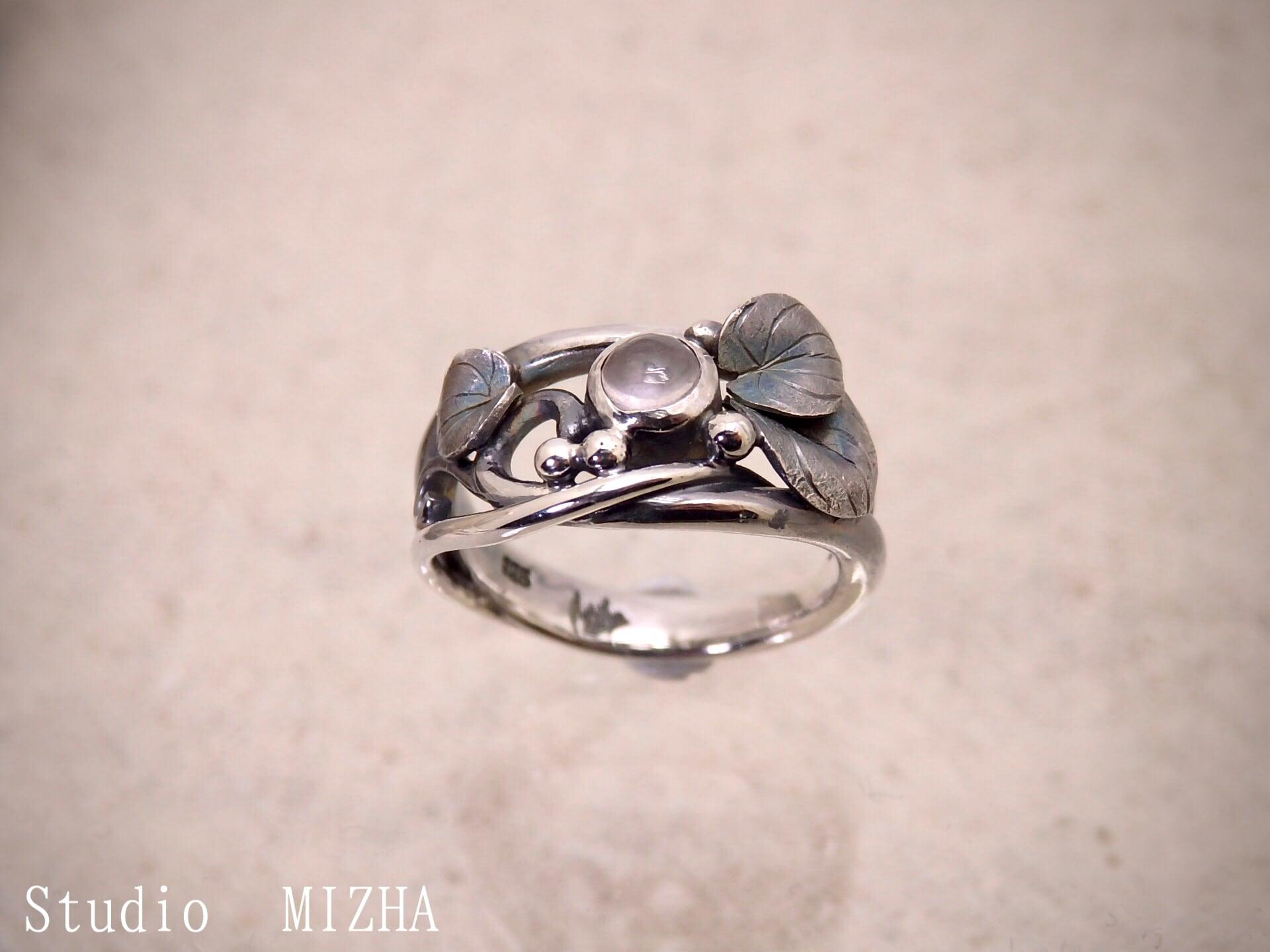 草あそび(金工の指飾りmr19b-01)