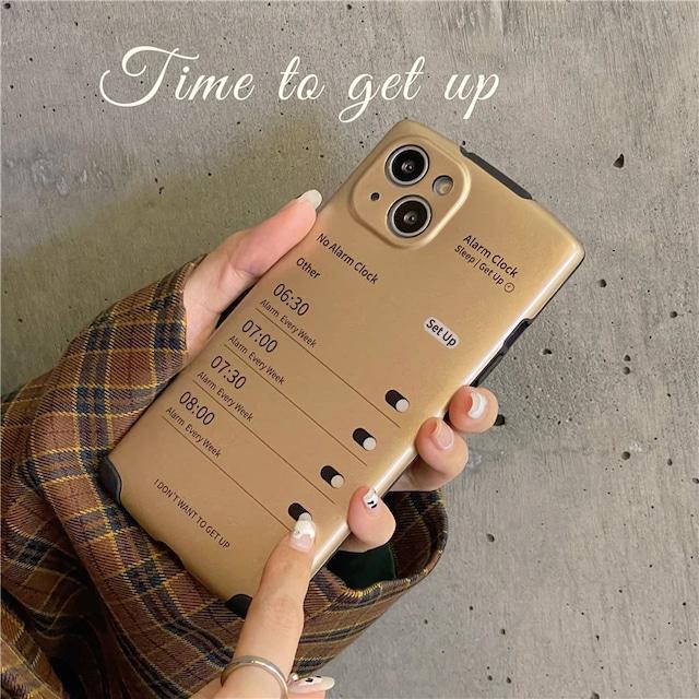 Alarm Clock iphone case