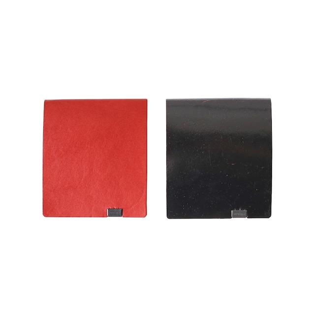 ボレロ ショートウォレット2.0 レッド×ブラック&ブラック×レッド