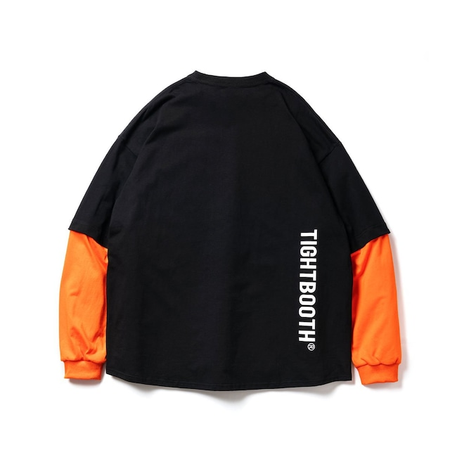 TIGHTBOOTH LAYERED L/S T-SHIRT BLACK