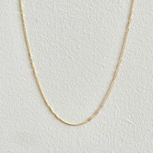 【GF1-110】18inch gold filled chain necklace
