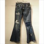 【sandglass】custom denim pants / 【サンドグラス】カスタム デニム パンツ
