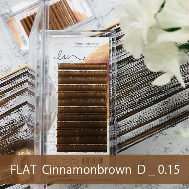 FLAT MAT シナモンブラウン     D_0.15mm