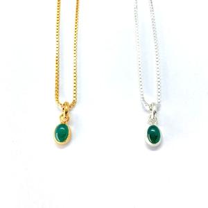 green onyx nc silver925