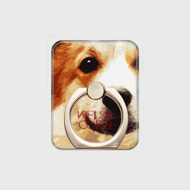 ウェルシュコーギー おしゃれな犬スマホリング【IMPACT -color- 】