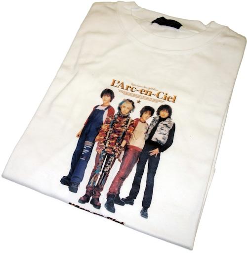 90年代 ラルク バンド Tシャツ 【M】   L'Arc〜en〜Ciel ヴィンテージ 古着
