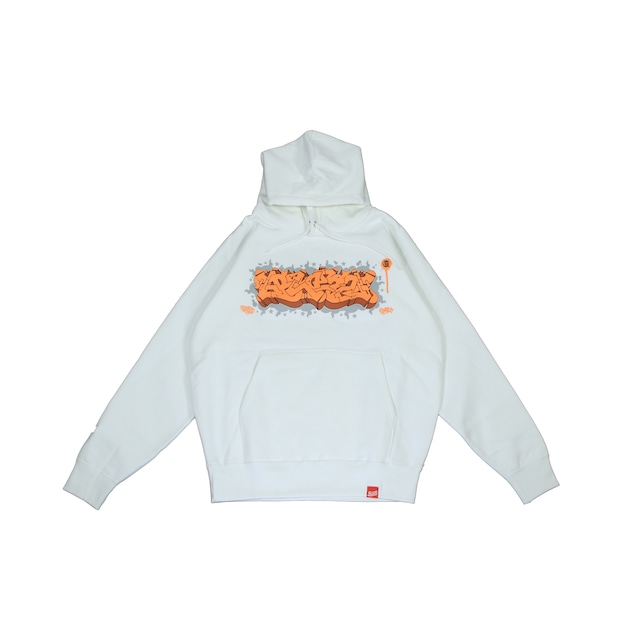 ITALY BLAZZ by Kreso World Wide COLLAB 00 SUPERHEAVY HOODIE [WHITE]