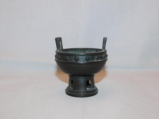陶器香炉 pottery incense burner