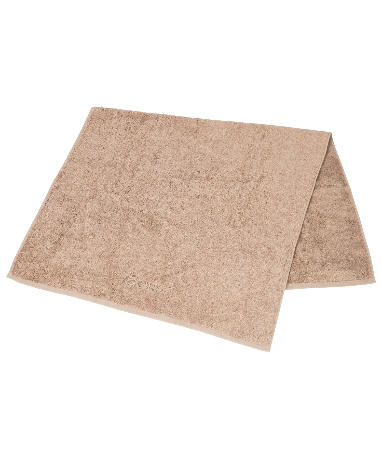 LOGO FRAME EMBROIDERY BATH TOWEL[REG128]