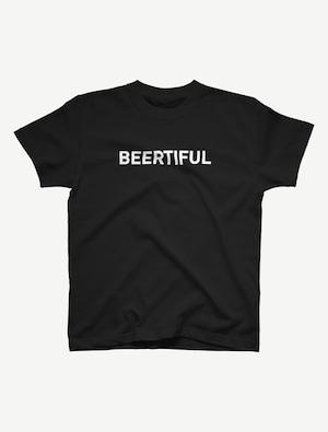 【ビアティフル白文字】Tシャツ