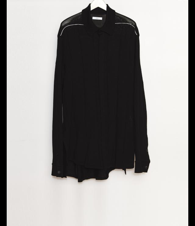 Knit Shirt / Black