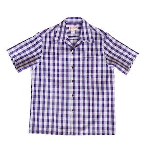 オリジナル パラカシャツ   Men's オープン / パープル