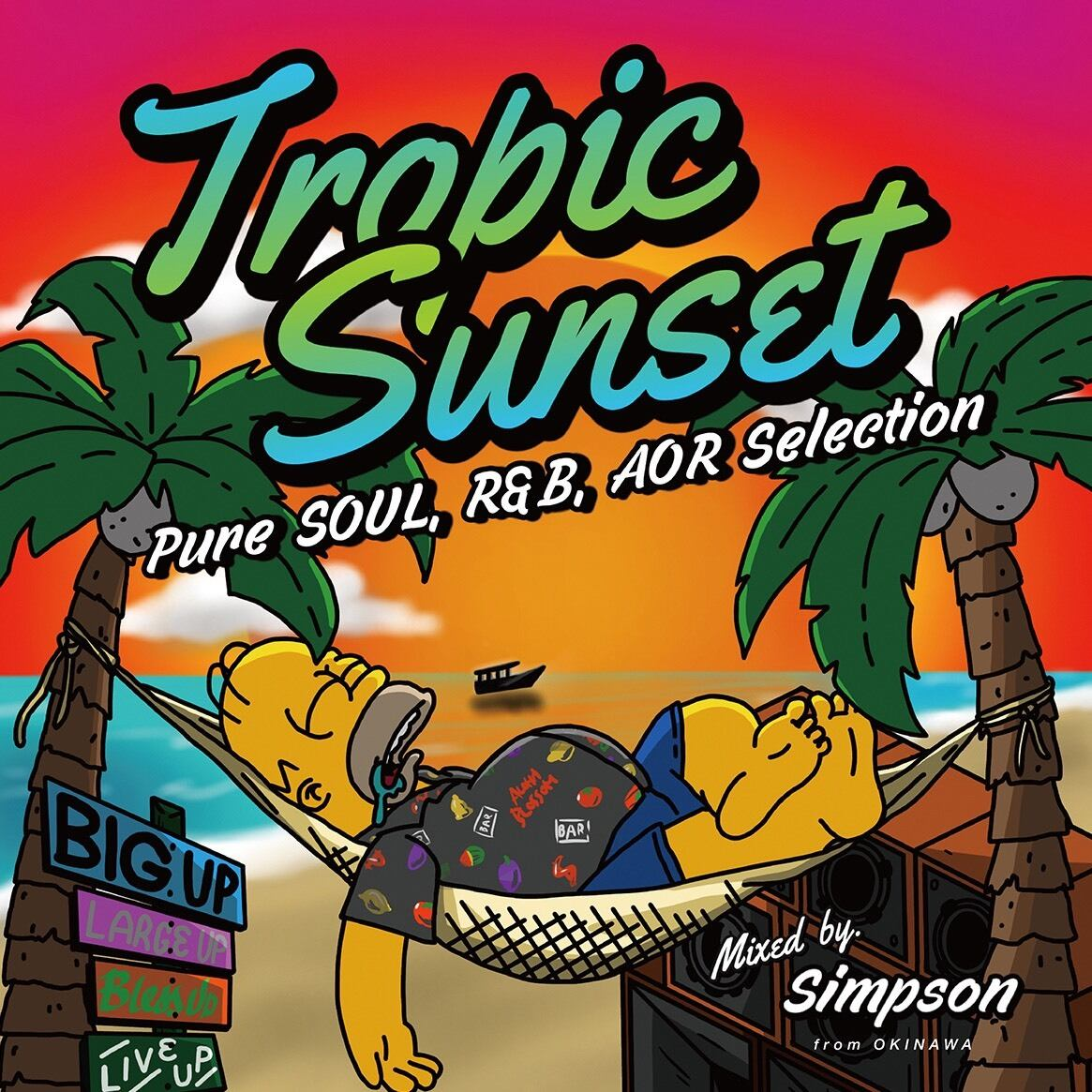 Tropic Sunset / SIMPSON