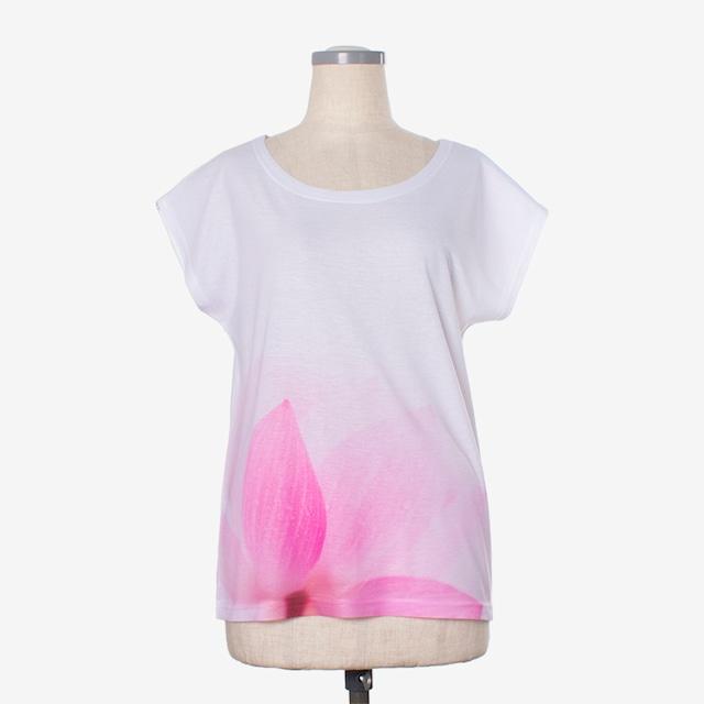 ヨガプリントTシャツ パドマ3 Yoga print T-shirt Padma3