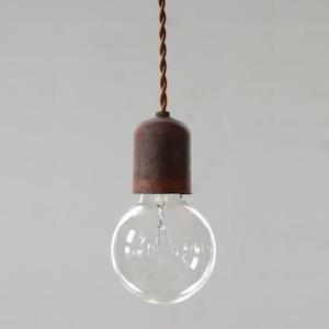 Socket Lamp Sabi|鉄錆