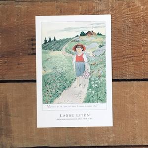 ポストカード「LASSE LITEN(MORS LILLA OLLE - 06)」
