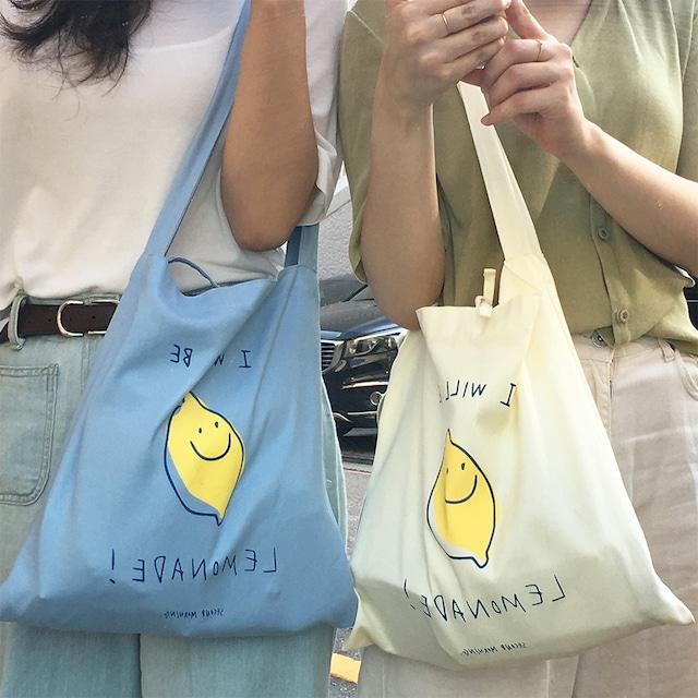 [second morning] レモネード エコバッグ (全2色)
